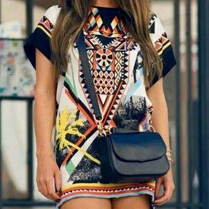 Aztec Dress NWOT
